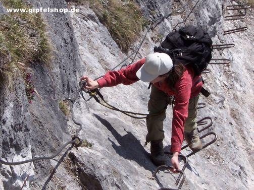 Klettersteig Chiemgau : Seiltanz im ersten chiemgauer klettersteig chiemgau geschichten